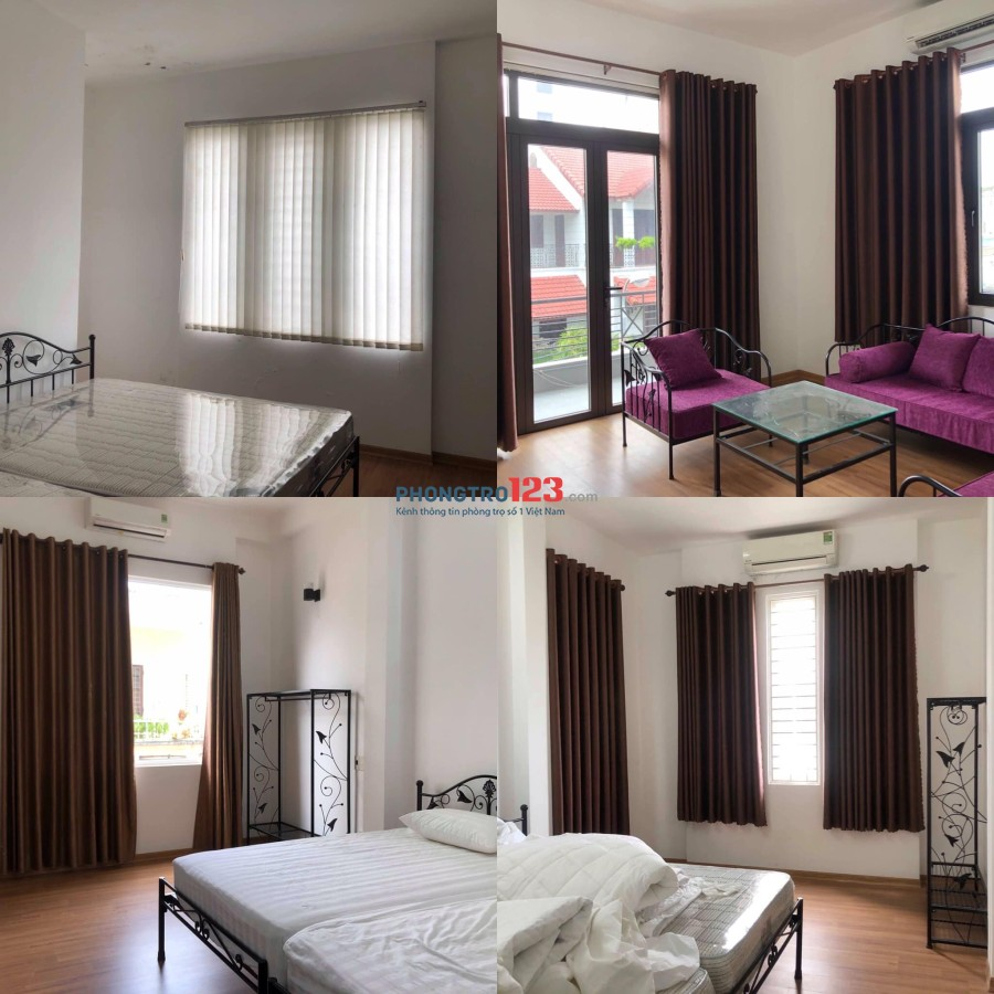 Phòng căn hộ mới hoàn thiện trung tâm thành phố
