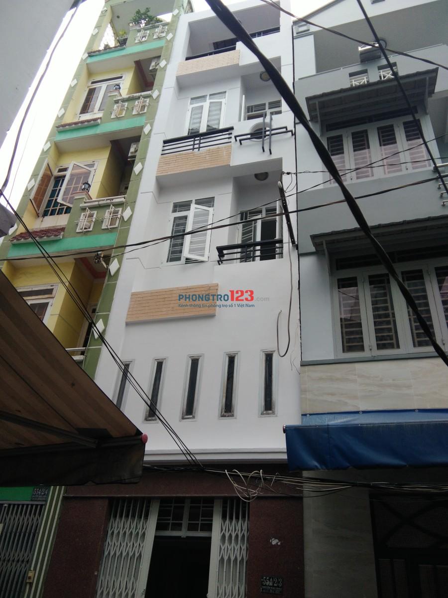 Cho thuê phòng giờ tự do 554/2/3 Nguyễn Đình Chiểu, P.4, Q.3, Giá từ 3-3,5 triệu/phòng