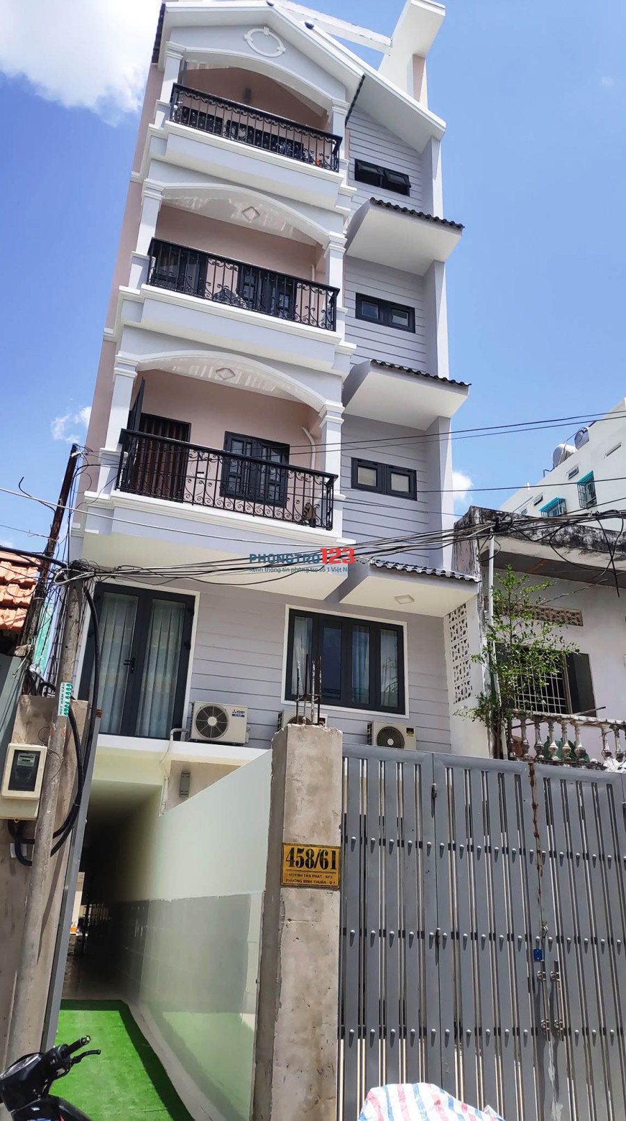Gấp! Cho thuê phòng trọ có gác 28m2 - 2.8 triệu mới tinh 100% 458 Huỳnh Tấn Phát Quận 7