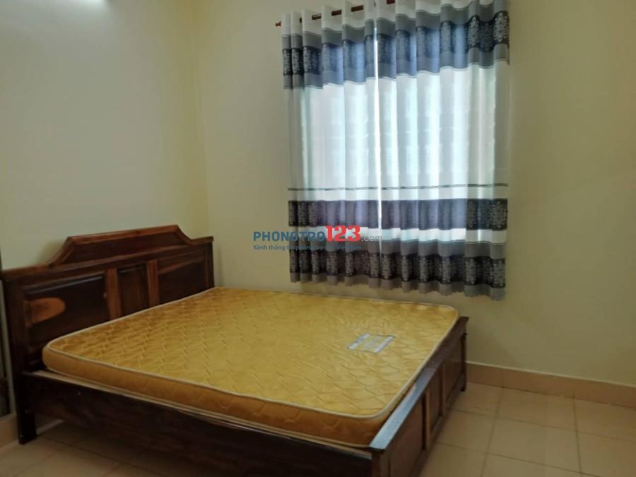 Phòng trọ đầy đủ tiện nghi (máy lạnh, giường) (gần quận Tân Phú)