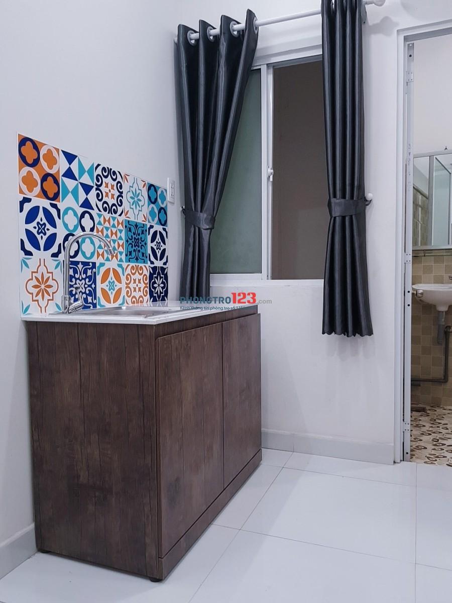 Phòng đẹp giá rẻ tiện nghi bất ngờ đối diện Đại Học Văn Lang Bình Thạnh.