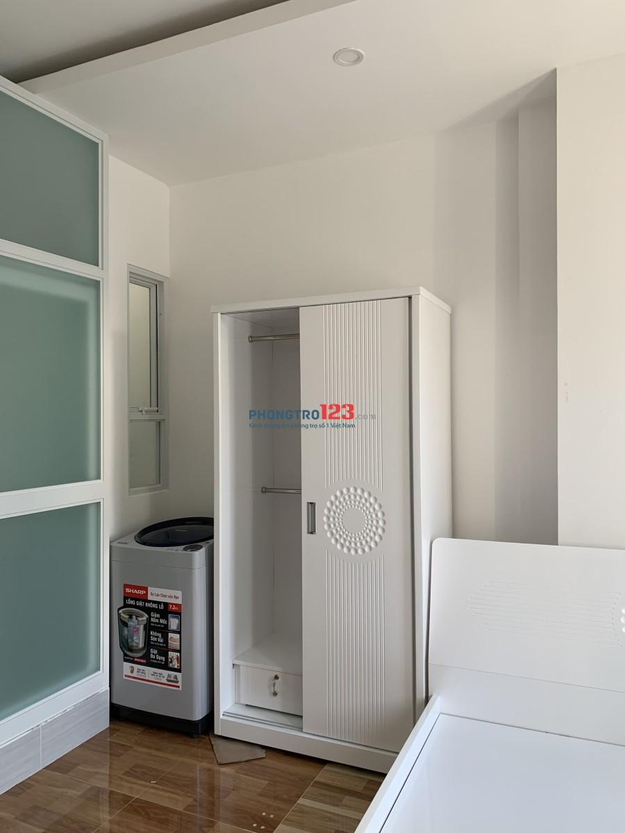 Phòng mới đẹp full nội thất_ dạng khách sạn cao cấp dài hạn 180/75A XVNT, P.21, Bình Thạnh