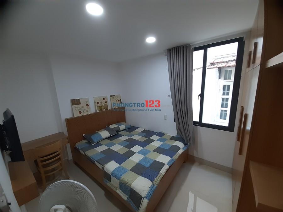 Phòng trọ cao cấp full nội thất, mới 100%, gần chợ Nguyễn Xí