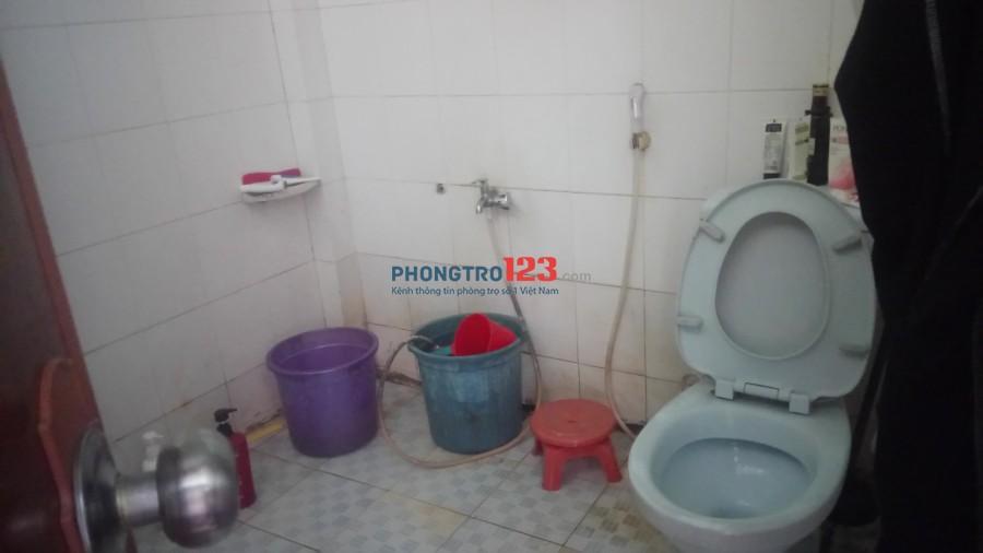 Phòng trọ 40m2 gần chợ Tân Định, quận 1