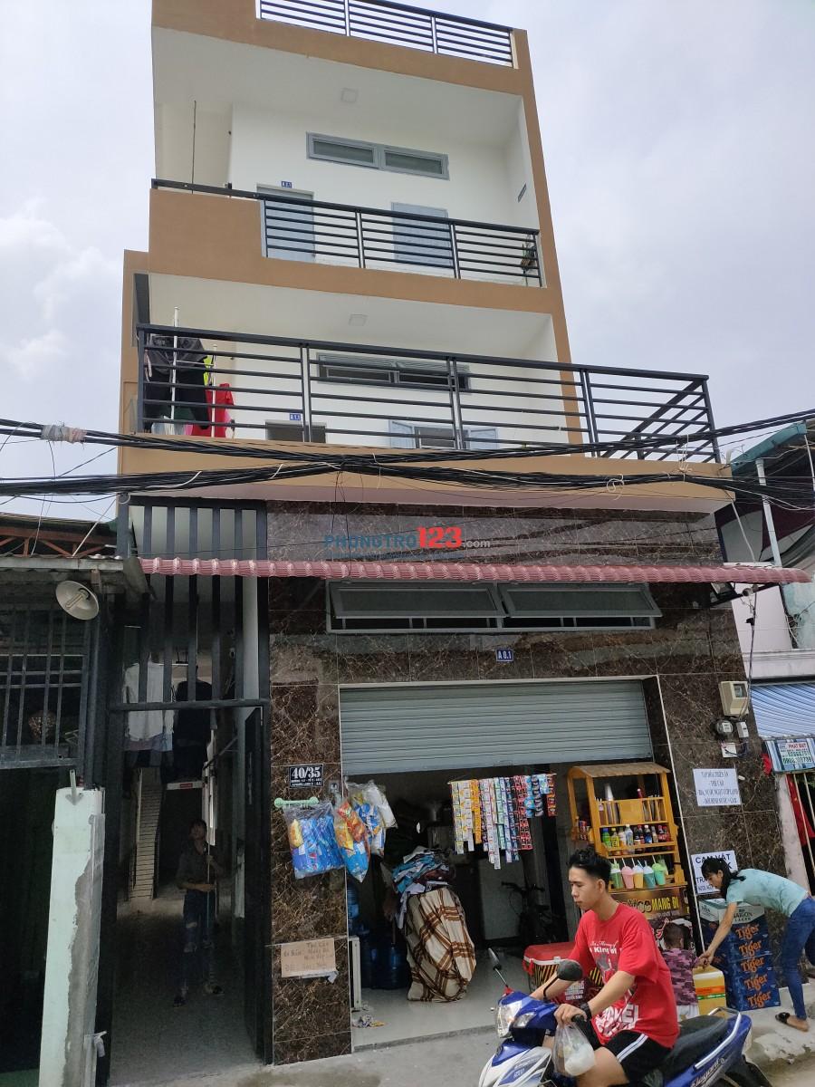 Khu nhà trọ đường 147, Phước Long B. Phòng máy lạnh lầu 2, 30m2, khu nhà mới xây, Cách Cao Đẳng Công Thương 200 m