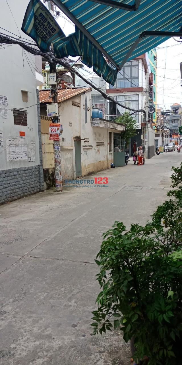 Cho thuê mặt bằng 20m2 hẻm 6m tại 1025/17HBis CMT8, P.7, Q.Tân Bình. Giá 5tr/tháng