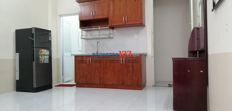 Căn hộ dịch vụ full nội thất, giá rẻ từ 3.6tr đến 4.3tr Quận Tân Phú