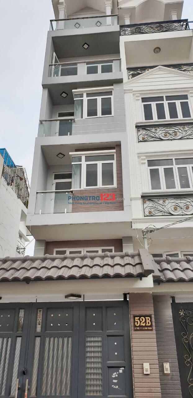 Phòng cho thuê cao cấp tiện nghi ngay chợ Cây Quéo, Bình Thạnh
