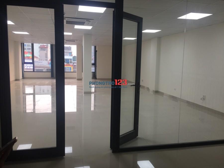 Chính chủ Cho thuê văn phòng diện tích 50m2 và 100m2 tại số 109 Đường Nguyễn Xiển, Thanh Xuân, Hà Nội (Nhà mới hoàn thà