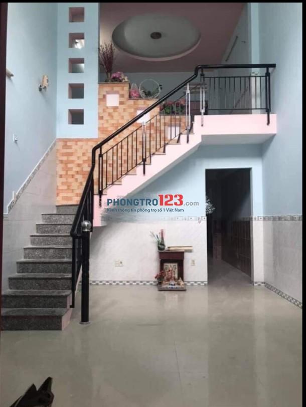 Chính chủ cho thuê nhà nguyên căn 1 lầu 3pn 120m2 tại An Phú Đông 12, Q.12. Giá 5tr/tháng