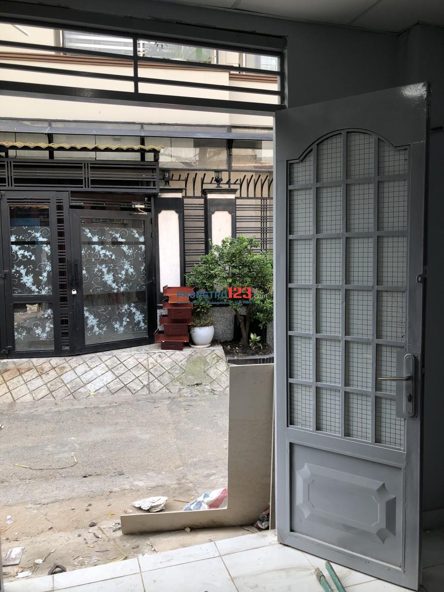 Phòng trọ mặt tiền hẽm Nguyễn Văn Đậu