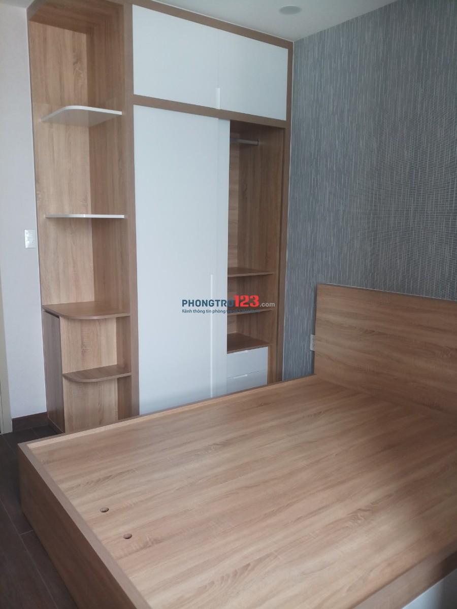 Cho thuê căn hộ đầy đủ nội thất 75m2 2pn tại Bùi Văn Ba, P.Tân Thuận Đông, Q.7. Giá 15tr/tháng