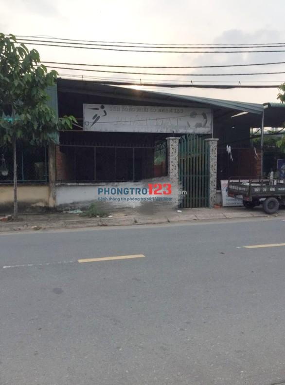 Cho thuê nhà mặt tiền 8x27 KD kho xưởng Đường Huỳnh Thị Hai, P.Tân Chánh Hiệp, Q.12