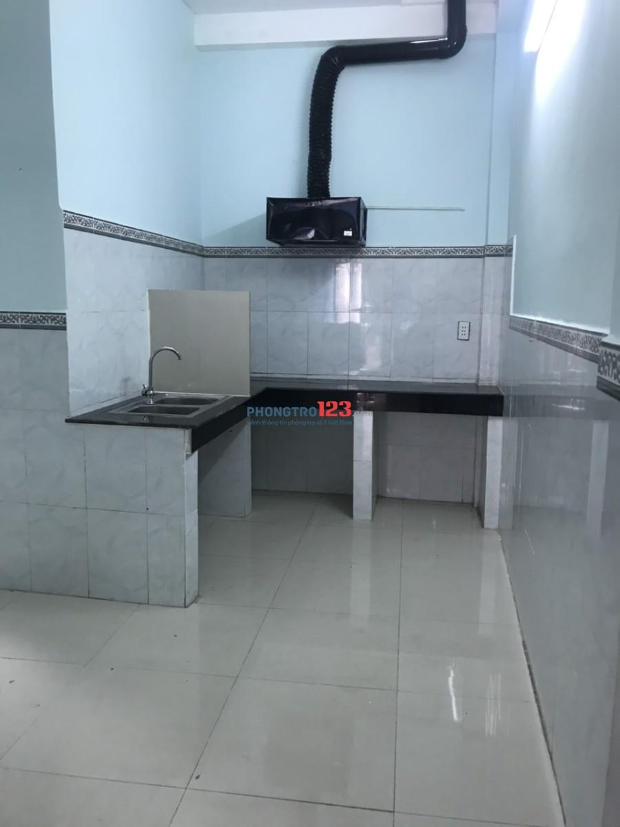 Cho thuê nhà mới nguyên căn 4x10 1 lầu hẻm 4m tại Đường số 14, P.Bình Hưng Hòa A, Bình Tân