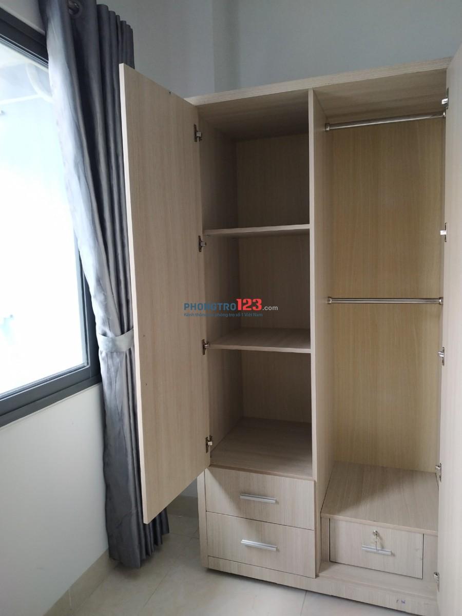 Phòng cho thuê mới xây, full nội thất - Nguyễn Duy Trinh, Quận 2