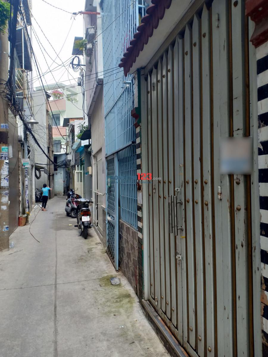 Cho thuê nhà Nguyễn Thái Bình, 8 triệu, 2 phòng ngủ, lửng + 1 lầu