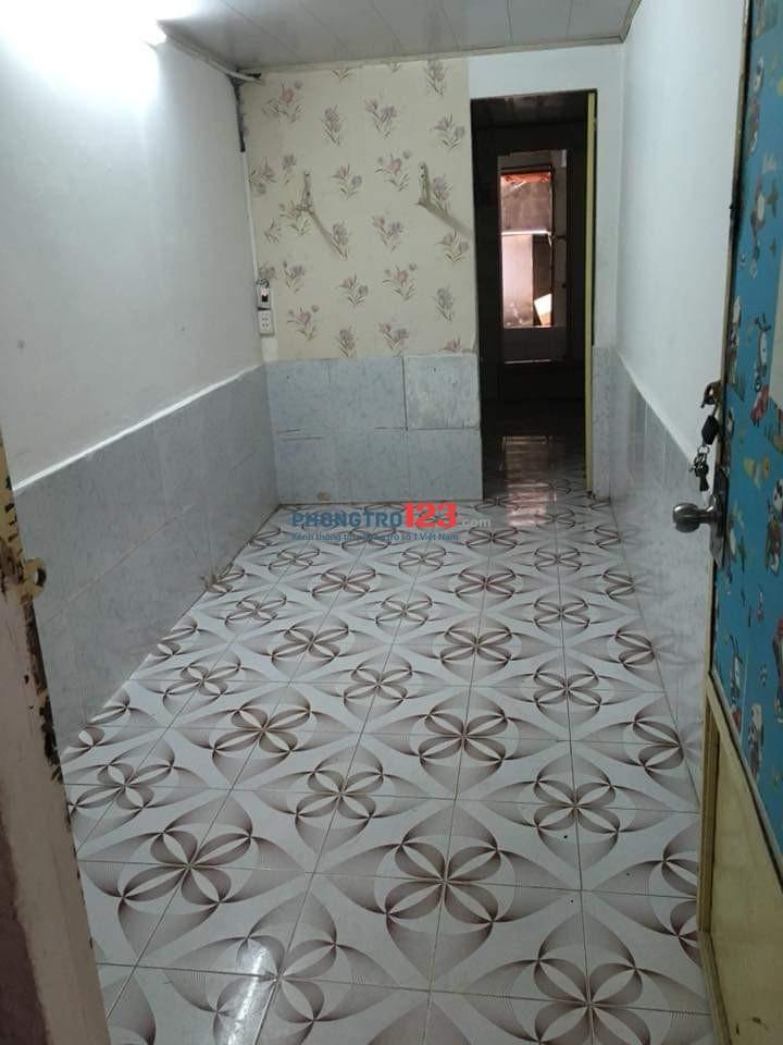 Cho thuê căn hộ tầng trệt 28m2, ngay trung tâm TP, (cách Q1&3 chỉ 100m). Giá 4.000.000đ/th Cọc 1 tháng