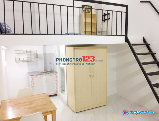 Phòng máy lạnh mới, có gác, 20m, Ngay ngả 4 Âu Cơ -Lạc Long Quân, giá 3.1 triệu