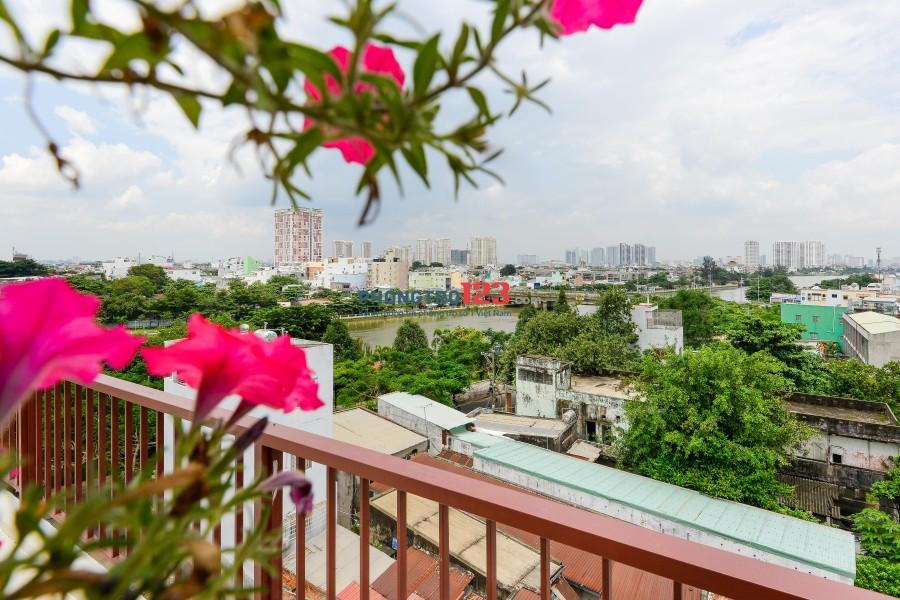 Căn hộ Studio cực bắt mắt, cực sang trọng, đầy đủ tiện nghi cạnh nhà thờ Thanh Đa, Quận Bình Thạnh