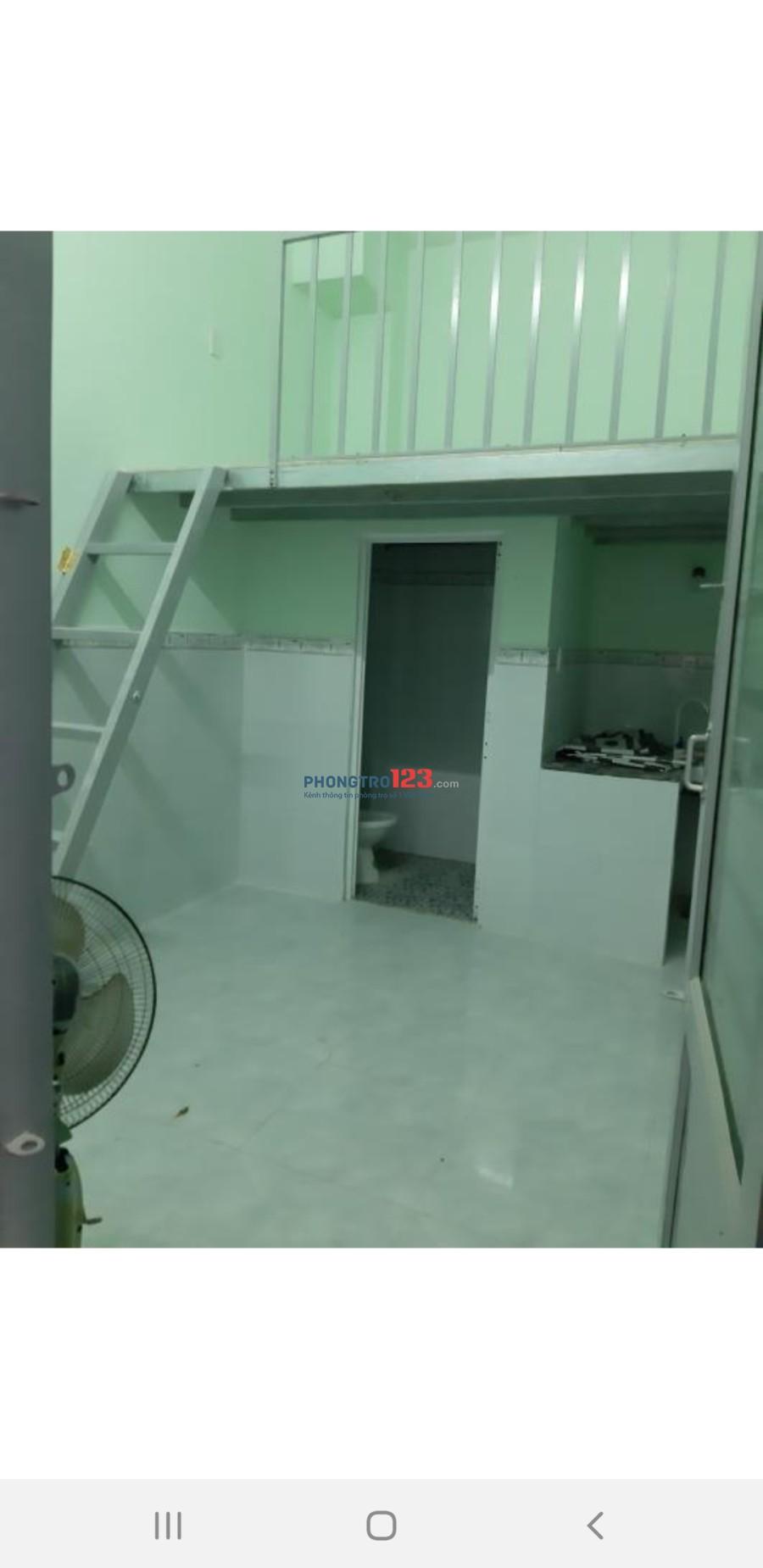 Phòng trọ giá rẻ Bình Tân (còn 1 phòng)