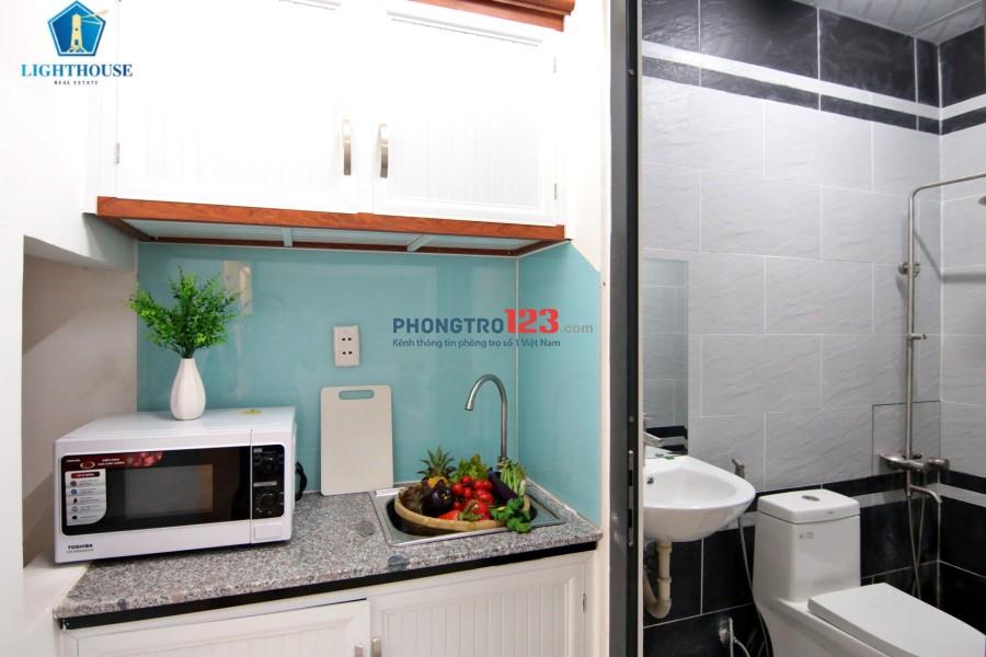Căn hộ 1 - 2 Phòng Ngủ Ảnh Thật 100% Khúc Giao Nơ Trang Long - Nguyễn Xí, Bình Thạnh - Gần ĐH HUtech. LH 0898107546