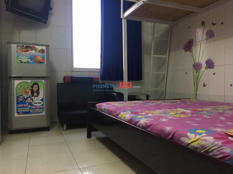 Phòng trọ có gác Q12, diện tích 18-25m2, full tiện nghi, giá từ 2tr- 2tr5