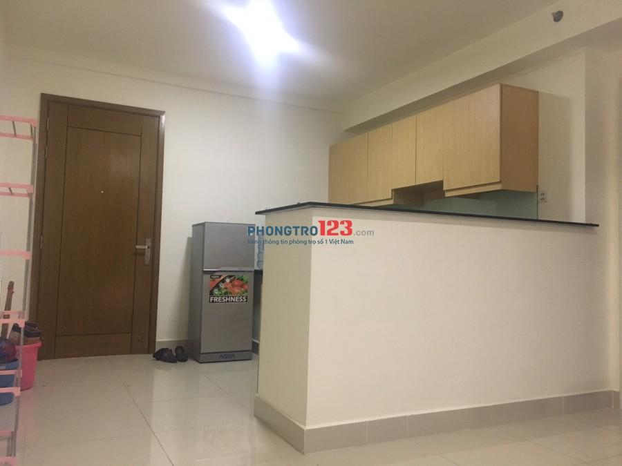 Cho thuê căn hộ chung cư 2pn, full nội thất, 62m2, như ảnh, chỉ 10tr/th,quận 7.