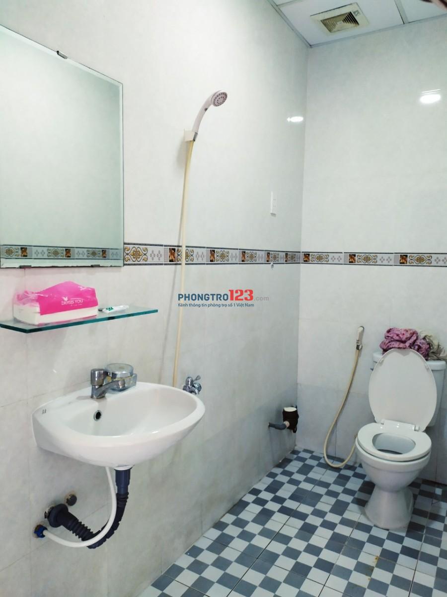 Phòng trọ D20 Dương Quảng Hàm có máy giặt, máy lạnh