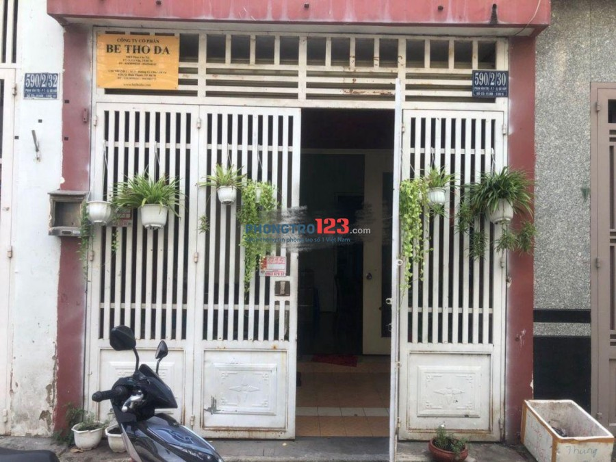 Chính chủ cho thuê nhà nguyên căn 64m2 hẻm xe hơi tại Phan Văn Trị, Q.Gò Vấp