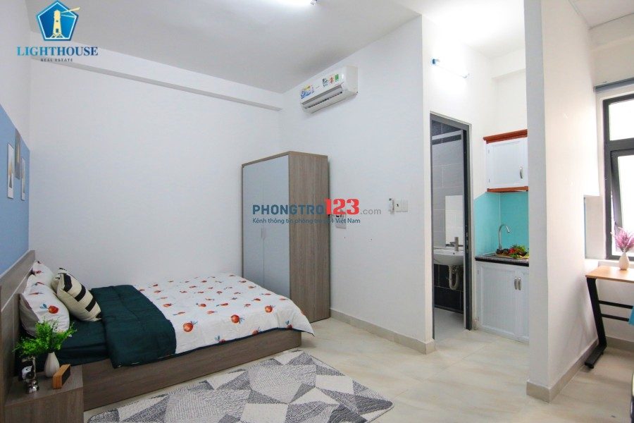 Căn hộ mới xây Full nội thất, thoáng mát với giá cực tốt