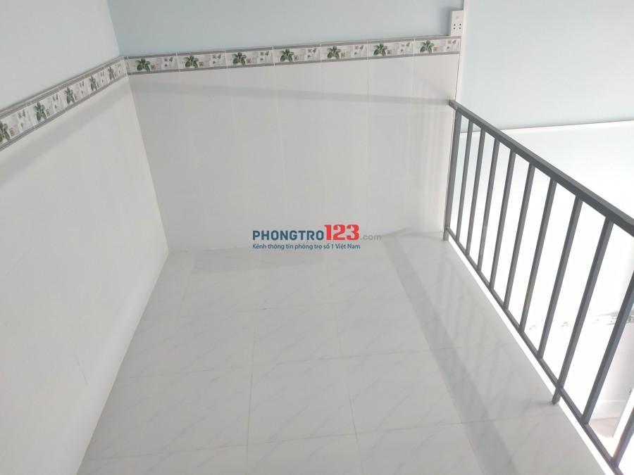 Cho thuê phòng trọ có gác lửng mới xây tại P.Thạnh Lộc, Quận 12 gần Ngã Tư Ga. Giá 1,8 triệu