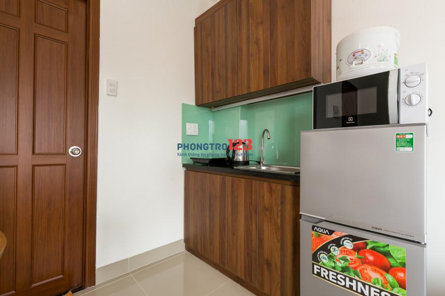 Cho thuê căn hộ mini full nội thất tại Phú Nhuận, đối diện coopmart Nguyễn Kiệm