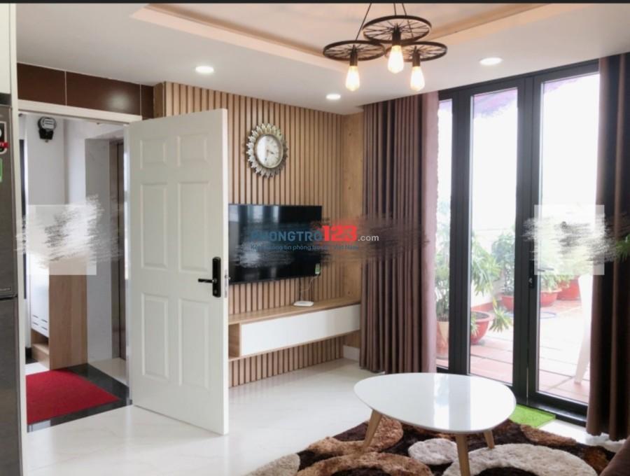 Cho thuê căn hộ 1pn và 3pn nội thất đẹp lung linh tại mặt tiền Nguyễn Thần Hiến, Q.4