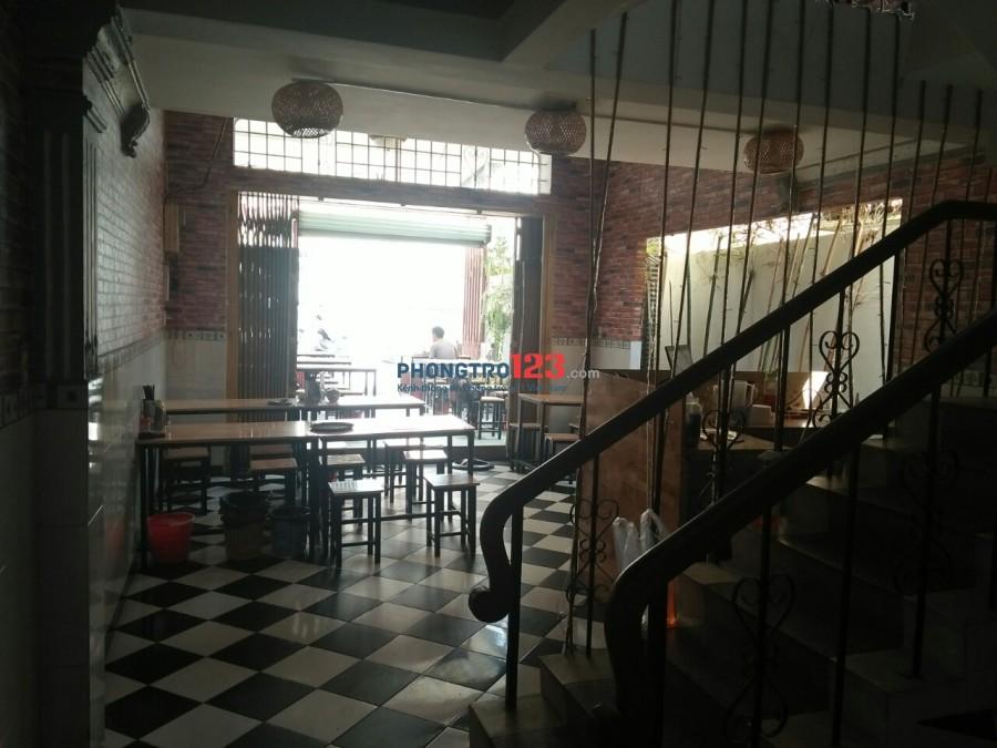 Sang nhà nguyên căn 125m2 kinh doanh quán ăn, Mặt tiền Nguyễn Hữu Cầu, Hóc Môn
