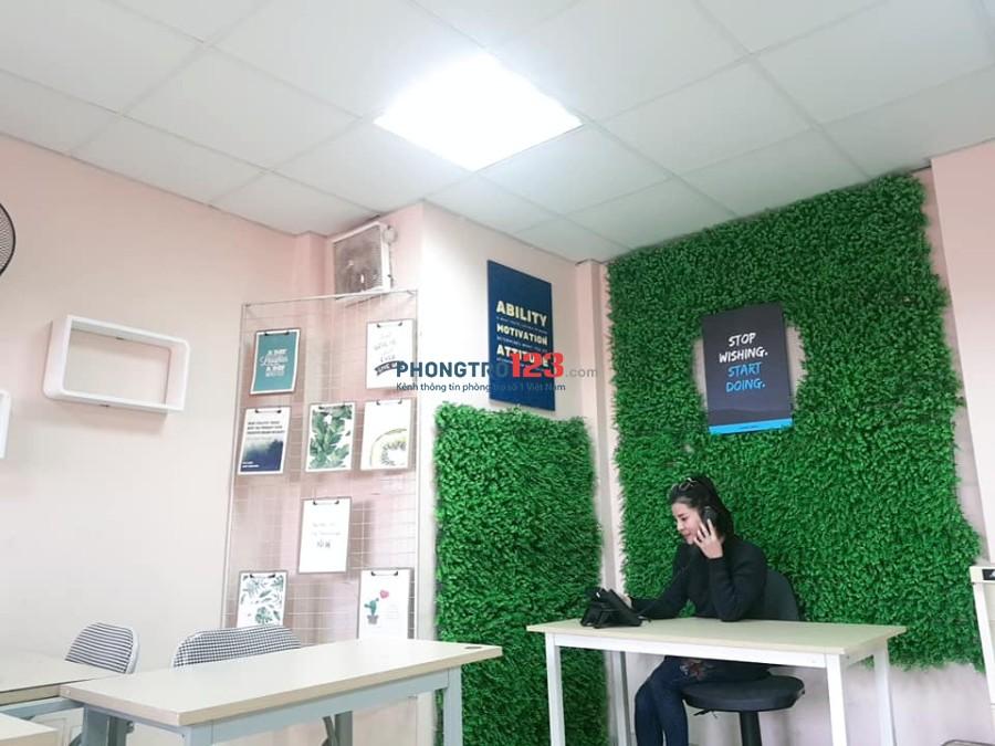 Cho thuê văn phòng đủ đồ tại số 50 Nguyễn Phúc Lai