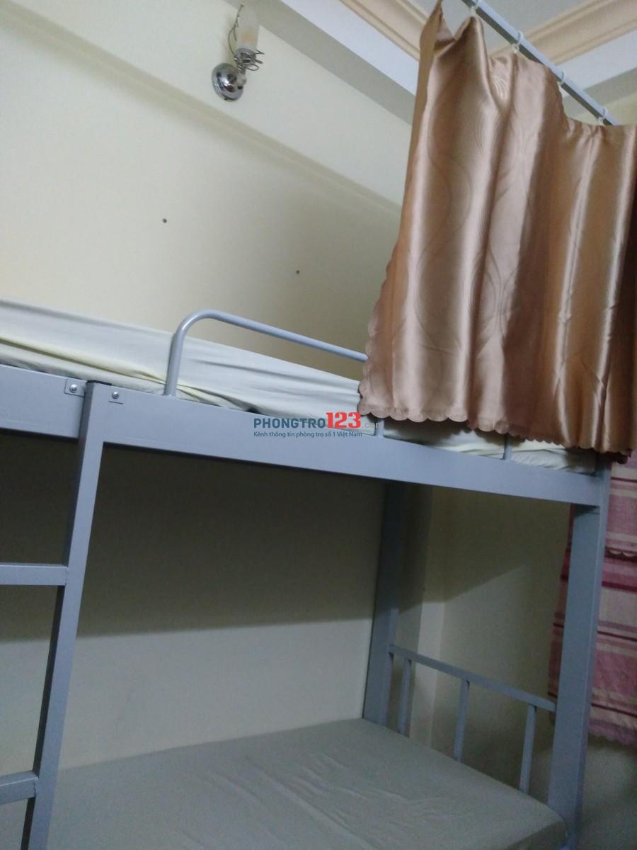 Cho nữ thuê phòng KTX full nội thất bao điện nước chỉ 1,4 triệu/tháng