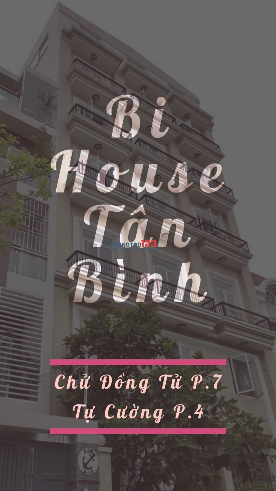 Căn hộ dịch vụ - Bihouse Tự Cường, Tân Bình