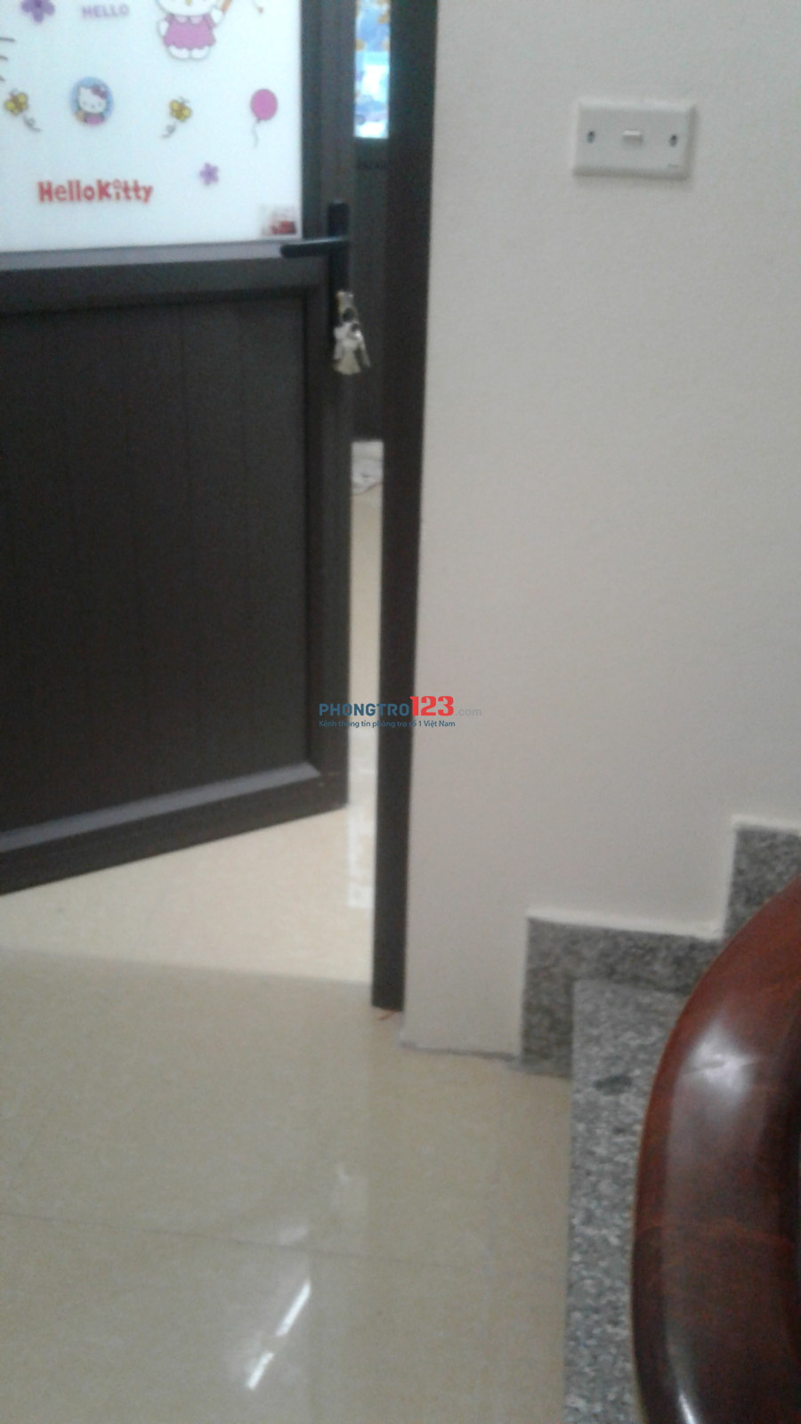 Phòng trọ chung cư cao cấp nhà mới xây đầy đủ tiện nghi, điều hoà bình nóng lạnh ban công phơi đồ riêng biệt