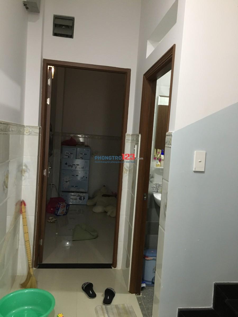 Cho thuê phòng nhà mới xây phòng, ốp gạch sạch đẹp