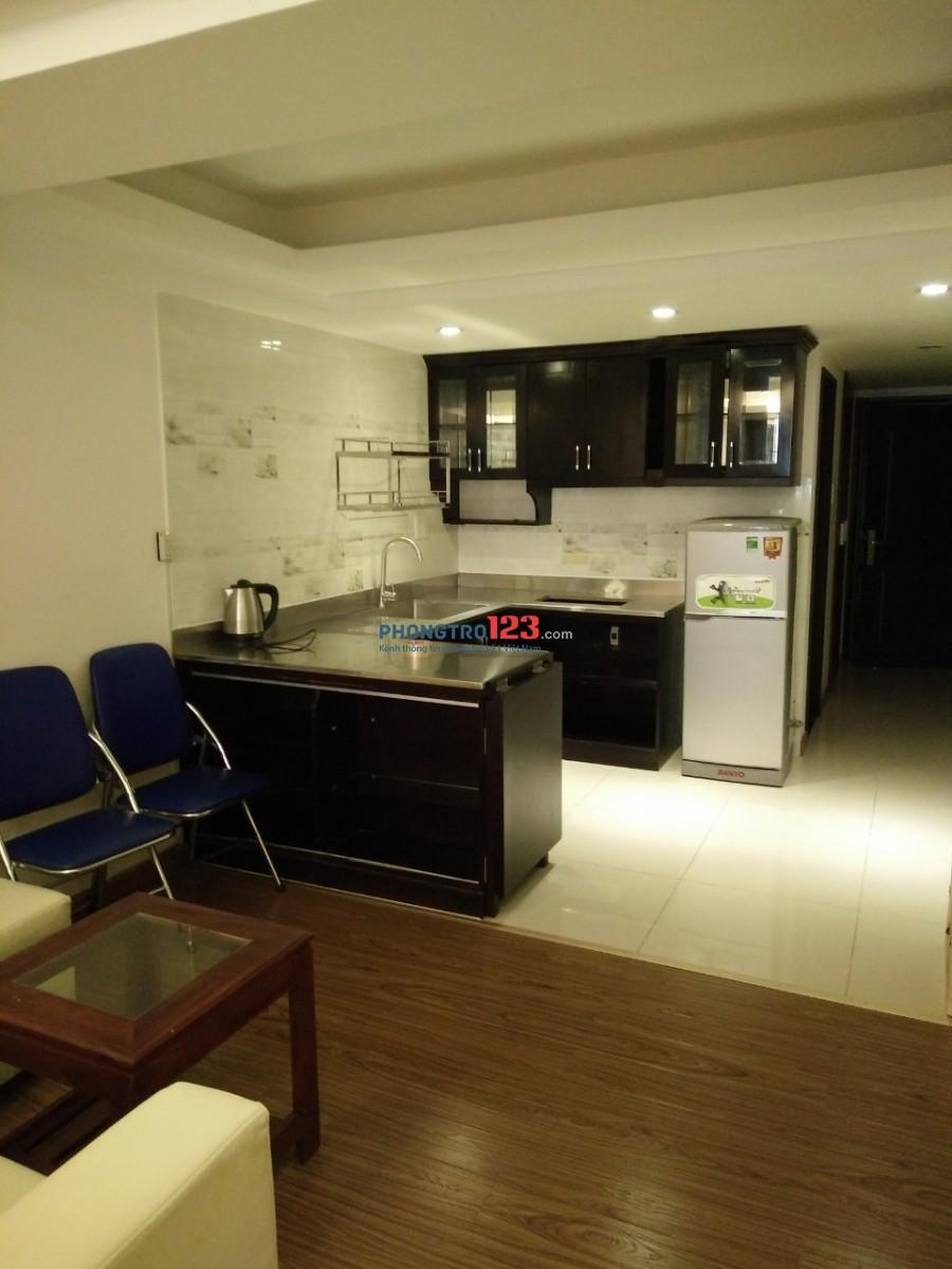 Cho thuê căn hộ mini - Quận Phú Nhuận - đầy đủ tiện nghi, giờ giấc tự do, chìa khoá riêng
