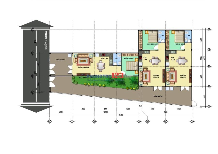 Nhà cho thuê phường Tân Tiến-Biên Hòa-Đồng Nai