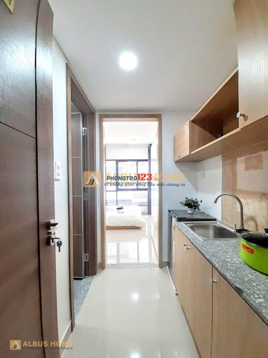 Hệ thống căn hộ Full nội thất Q.8 Giá rẻ - Yên Tĩnh - An ninh ngay Phạm Hùng ĐH Troy Hoa Kỳ