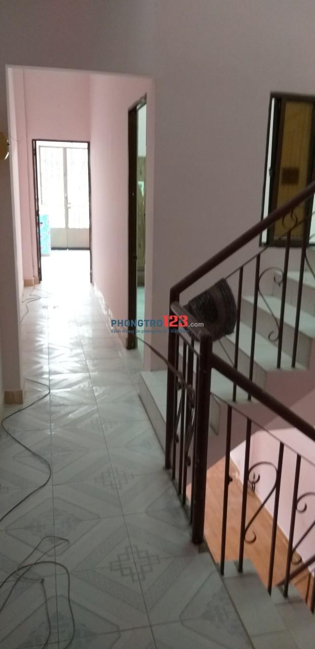 Cho thuê nhà mới sửa nguyên căn góc Kênh Tân Hóa, Huỳnh Thiện Lộc
