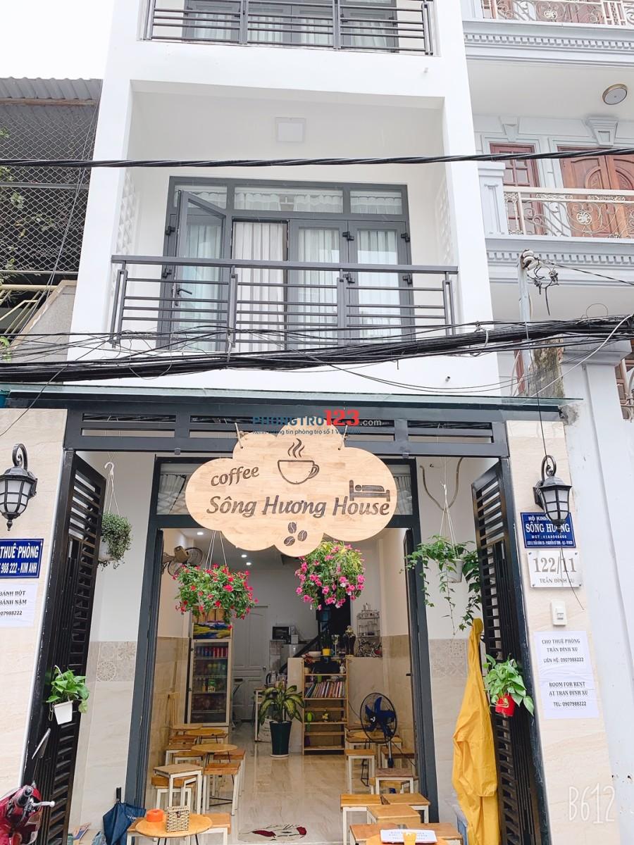 Cho thuê phòng trọ cao cấp Trần Đình Xu, Quận 1