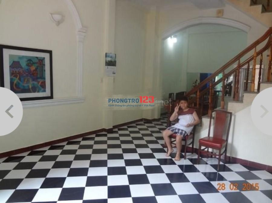 Cho thuê phòng có máy lạnh 30m2 ngay chợ Trần Hữu Trang, P.Phú Nhuận. Giá 3,6tr/tháng