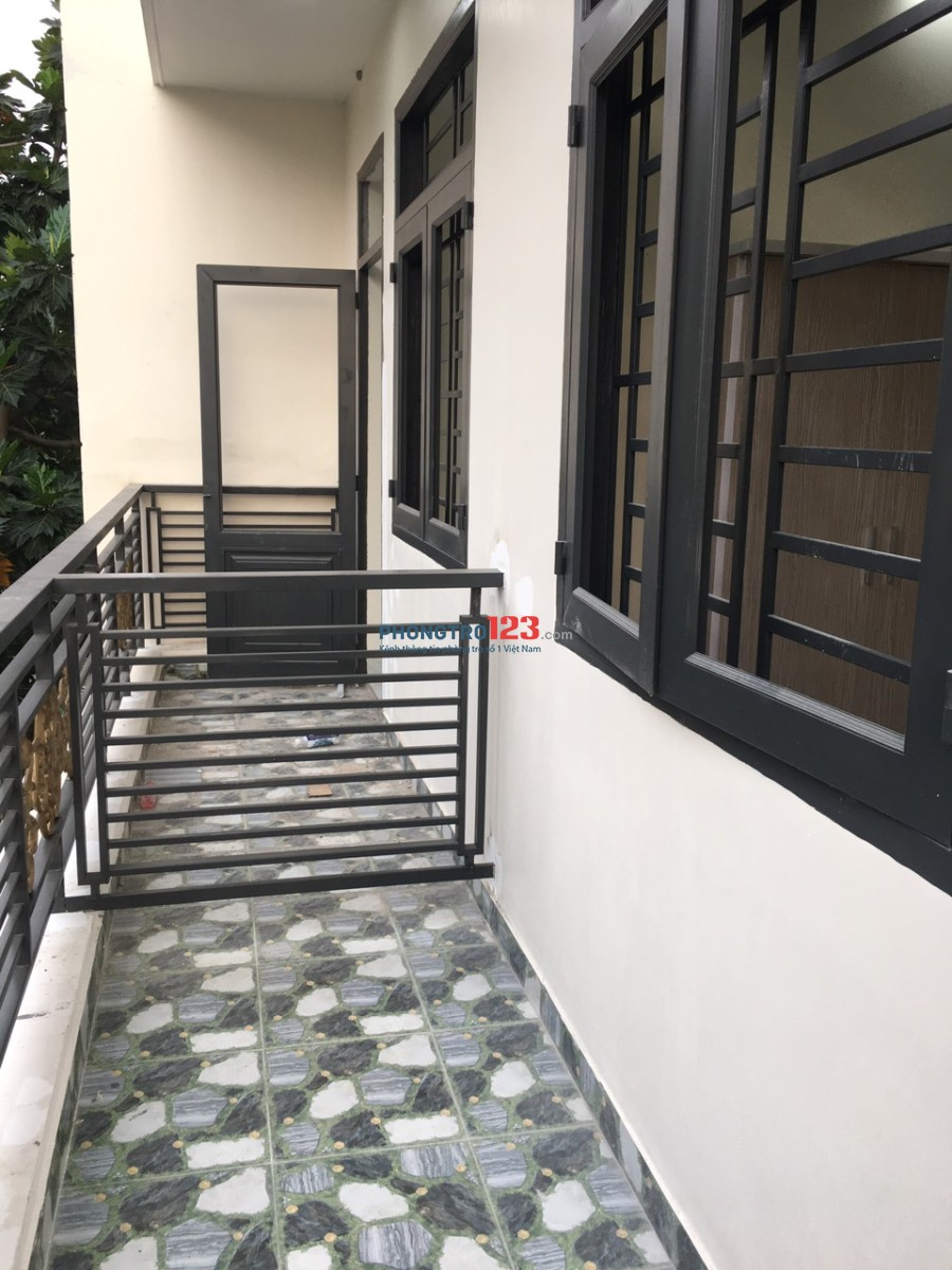 Cho thuê phòng trọ mới, rẻ, sạch sẽ có nội thất cơ bản gần trường đhcntp, chợ Tân Hương, siêu thị nhật Tân Phú