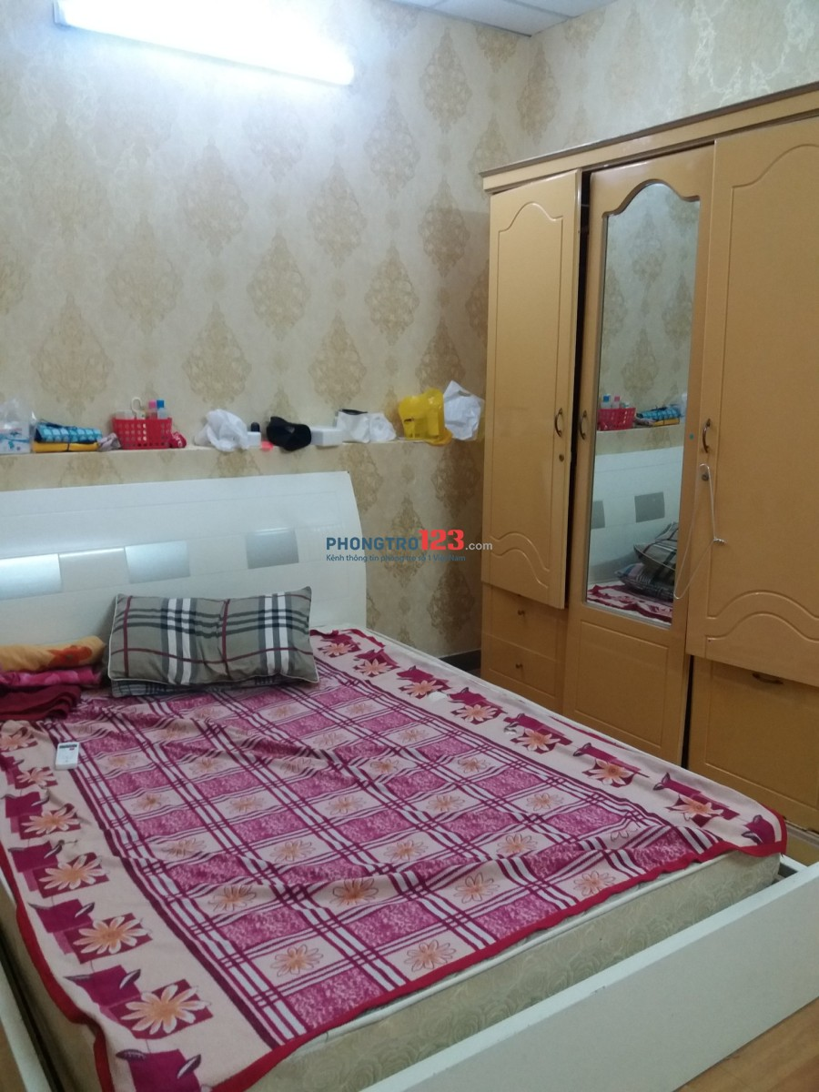 Cho thuê phòng 3.8tr/th toilet full nội thất, toilet trong phòng tại 358/5/9 CMT8