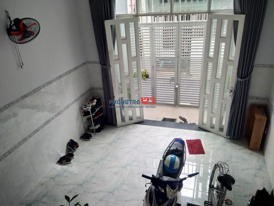 Phòng trọ khu vực Quang Trung, Gò Vấp