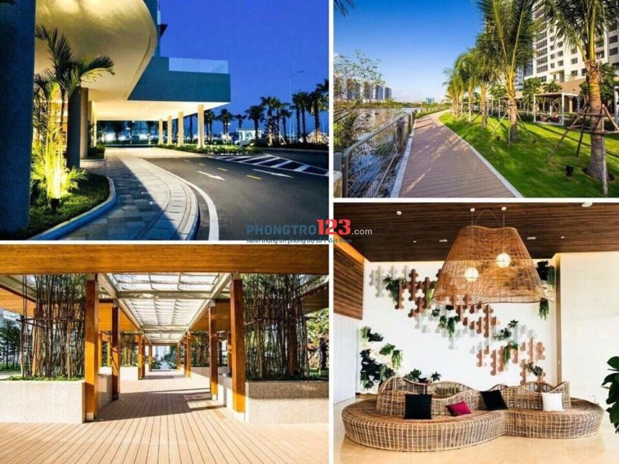 Cho thuê phòng Luxury, full nội thất, 2PN, 2WC, tầng 25, Đảo Kim Cương, 79m2