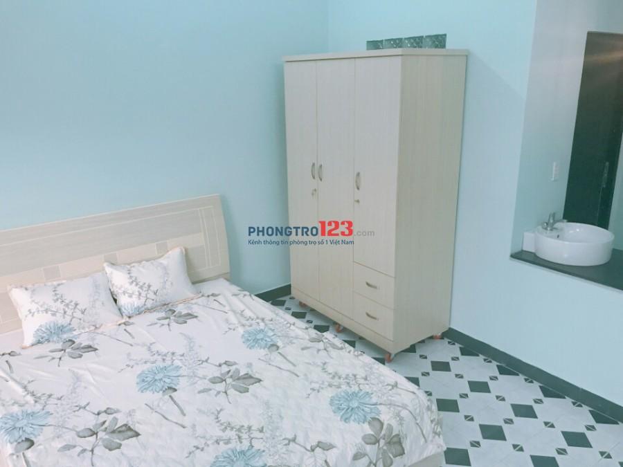 Phòng cao cấp có ban công gần Vinhome Bình Thạnh, DT: 30m2, giá: 5.8 triệu 0918856800